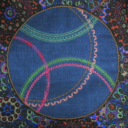Circular Sewing Round Sample