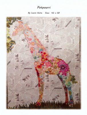 Fiberworks giraffe