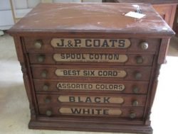 Coat's & Clark Spool Cabinet