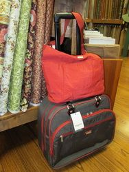 Baggallinni Rolling Suitcase and Tote